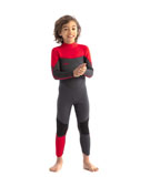 Jobe Boston 3/2mm Traje De Neopreno Niños Rojo