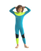 Jobe Boston 3/2mm Traje De Neopreno Niños Verde Azulado