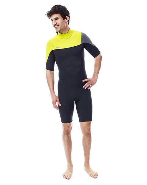 Jobe Perth Shorty 3/2mm Wetsuit Men Yellow