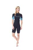 Jobe Sofia Shorty 3/2mm Wetsuit Women Blue
