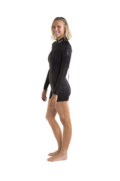Jobe Sofia Shorty 3/2mm Longsleeve Wetsuit Women Black