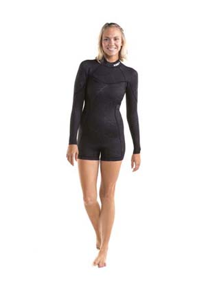 Jobe Sofia Shorty 3/2mm Longsleeve  Black