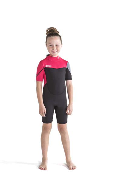 Jobe Boston Shorty 2mm Wetsuit Kids Pink