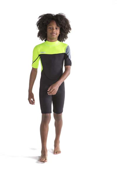 Jobe Boston Shorty 2mm Wetsuit Kids Lime Green