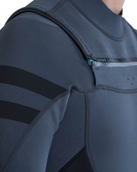 Jobe Perth Shorty 3/2mm Chestzipper Wetsuit Men Gray
