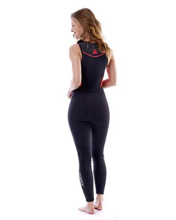 Jobe Porto Long John 2mm Wetsuit Women Fury Red