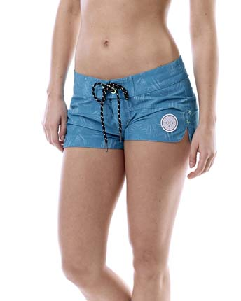 Jobe Boardshort Women Teal Blue