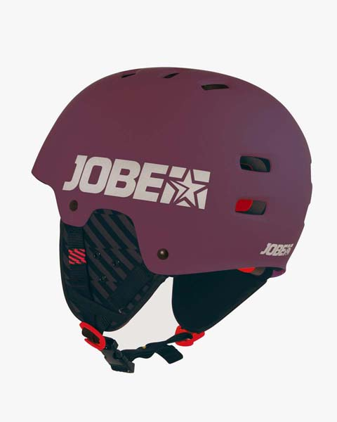Jobe Base Casque Wakeboard Bordeaux Rouge
