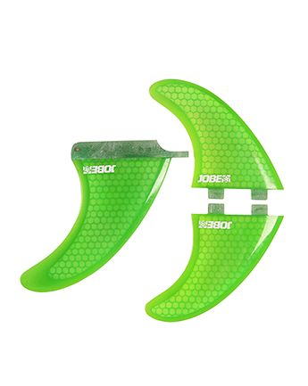 Jobe Paddle Board 6Inch Honeycomb Fin Set (3) Green