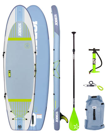 Jobe Lena 10.6 Yoga SUP Board gonflable Paquet