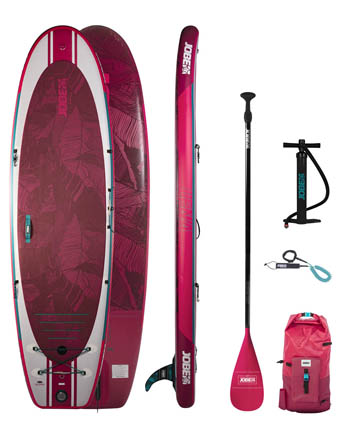 Jobe Lena 10.6 SUP Board Gonflable Paquet