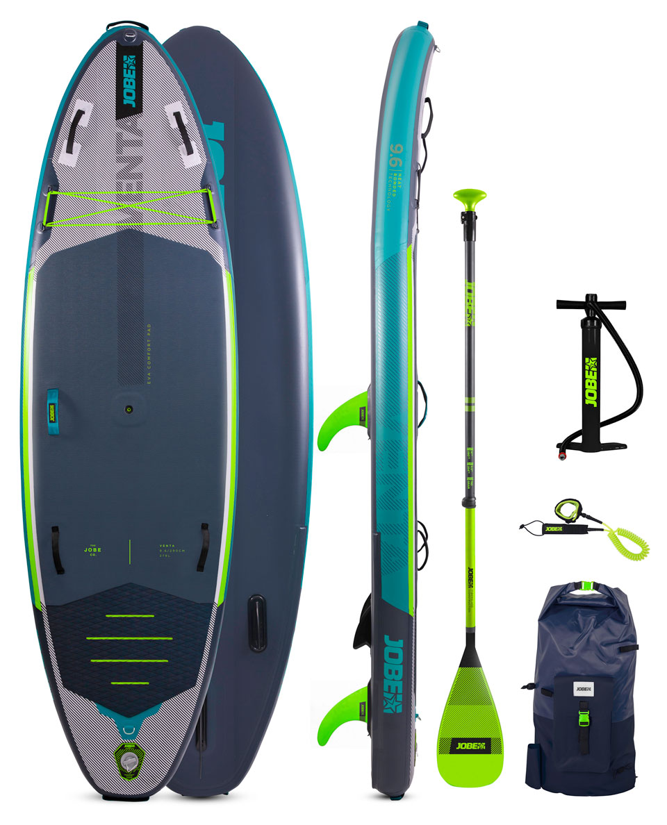 Jobe Venta 9.6 Inflatable Paddle Board Package