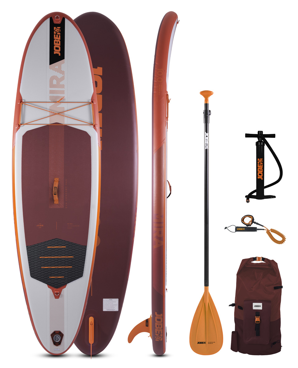 Jobe Mira 10.0 Inflatable Paddle Board Package