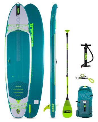 Jobe Loa 11.6 SUP Board Golflable Paquet