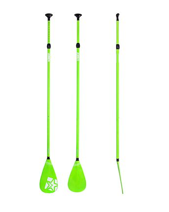 Jobe SUP Paddle Fiberglass 3pc Green