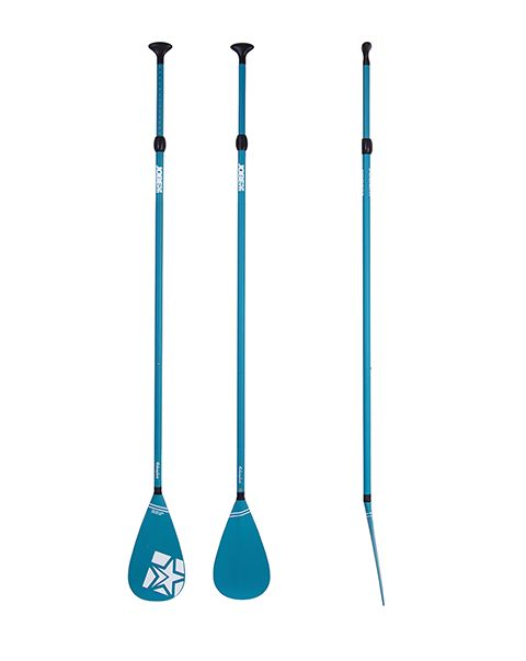 Jobe SUP Paddle Fiberglass 3pc Blue