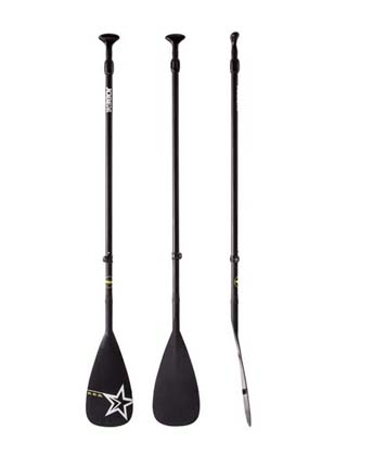 Jobe Fiberglass SUP Paddle Black 3 pc