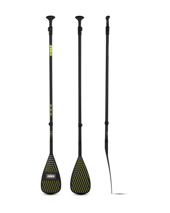 Jobe Fiberglass SUP Paddle Black 3-piece