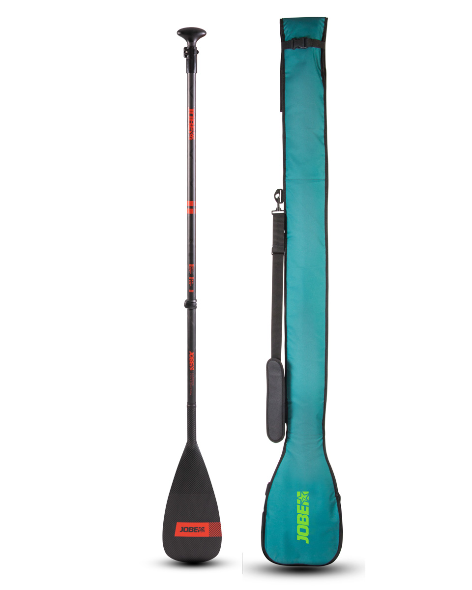 Jobe Carbon Pro SUP Paddle 3-piece with Paddle Bag