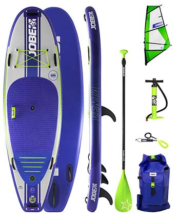 Jobe Venta 9.6 WindSUP Gonflable Paquet + Venta Sup Voile
