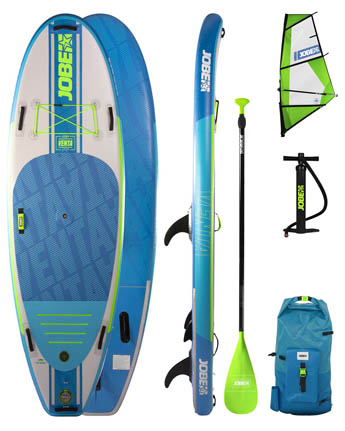 Jobe Venta 9.6 Inflatable WindSUP Package + Venta Sup Sail