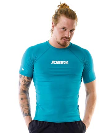 Jobe Rash Guard Men Teal Blue
