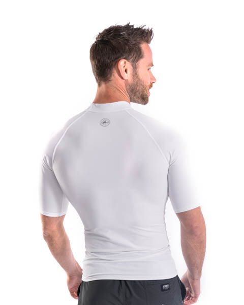 Jobe Rash Guard Shortsleeve Men White
