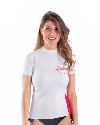 Jobe Rash Guard Shortsleeve Women White