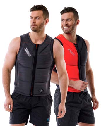 Jobe Reversible Impact Vest Men Red/Grey