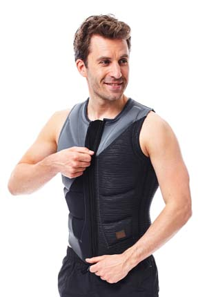 Jobe Impact Vest Men Graphite Grey