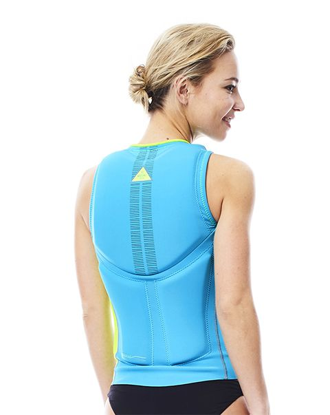 Jobe Comp Vest Women Lime/Grey