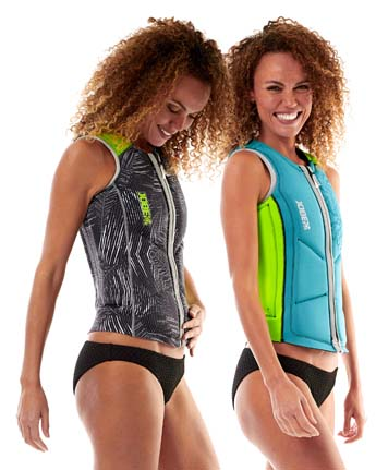 Jobe Reversible Impact Vest Lime/Teal Women