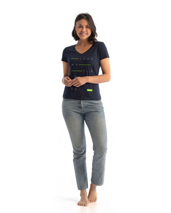 Jobe Casual T-Shirt Mujer French Navy