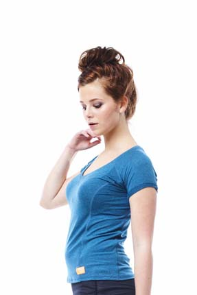 Jobe Discover T-shirt Women Teal Blue