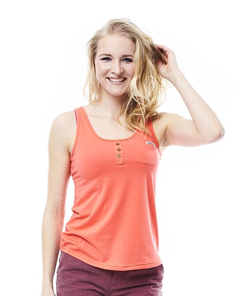 Jobe Discover Tanktop Women Coral Red