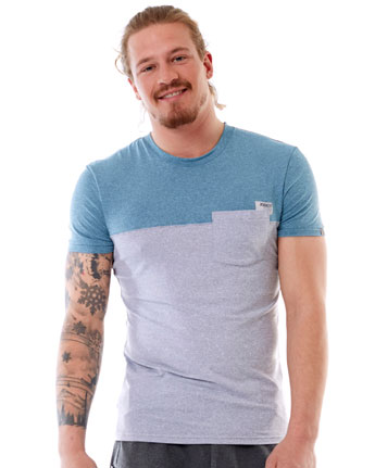 Jobe Discover T-Shirt Men Fog Blue