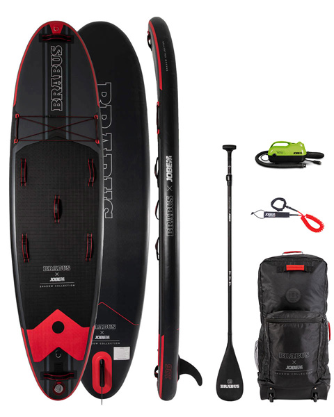 BRABUS x Jobe Shadow 10.6 Limited Edition Inflatable Paddle Board Package