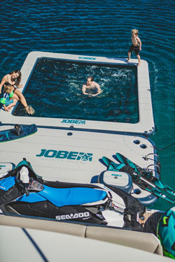 Jobe Infinity Pool Inflatable Sea Pool with Pump