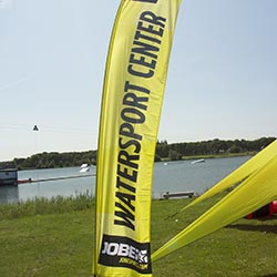 Jobe Watersports Location Flag