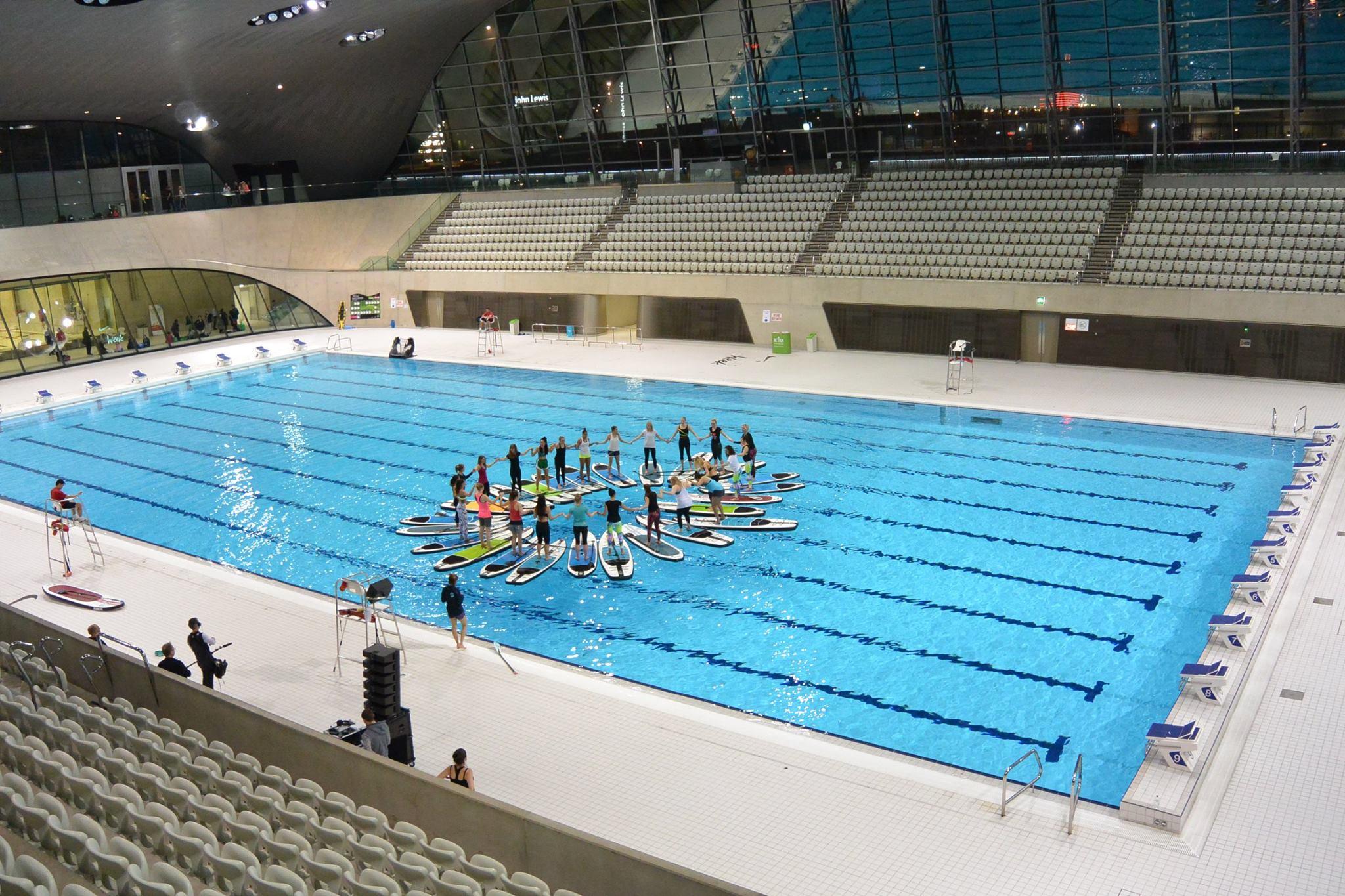 Jobe sup at the london olympics pool blog jobe for Pool london