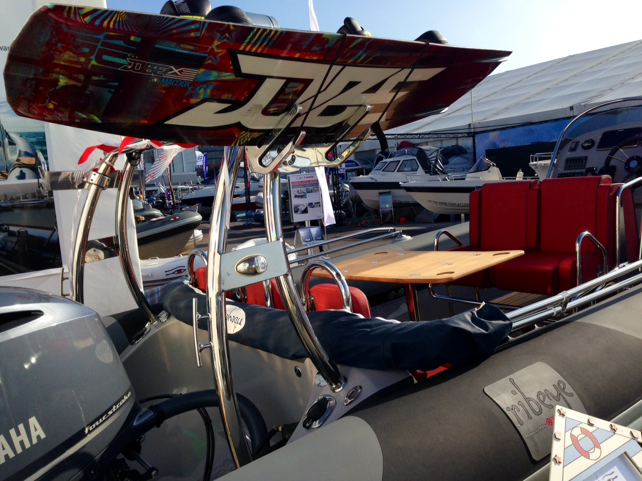 Jobe dealers present at the South Hampton Boat Show