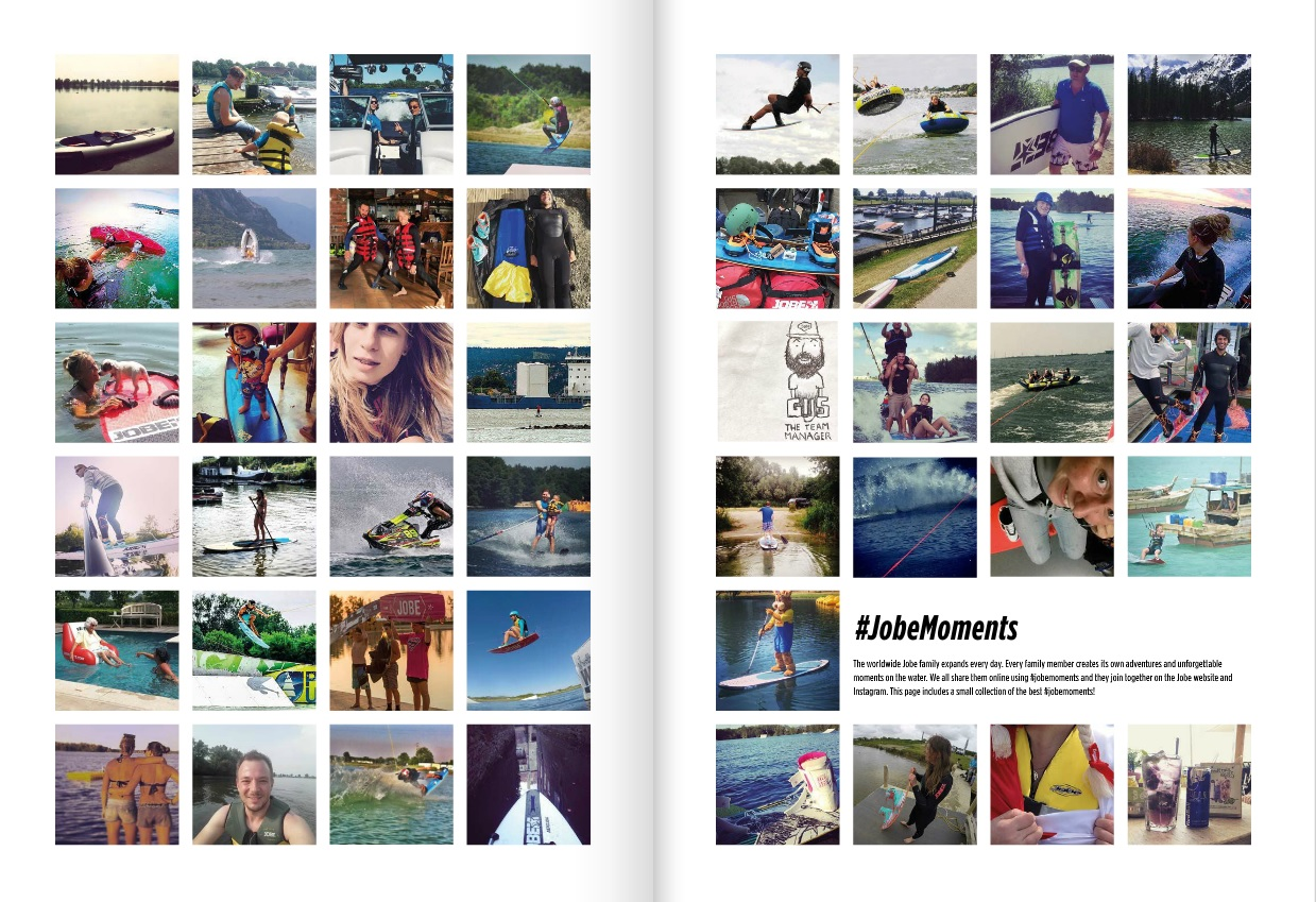 #jobemoments in the new 2016 boating catalogue!