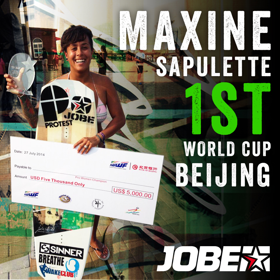 Jobe riders impressing the world stage!