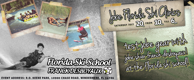 Jobe hosts Ski Clinic @ Florida Ski School