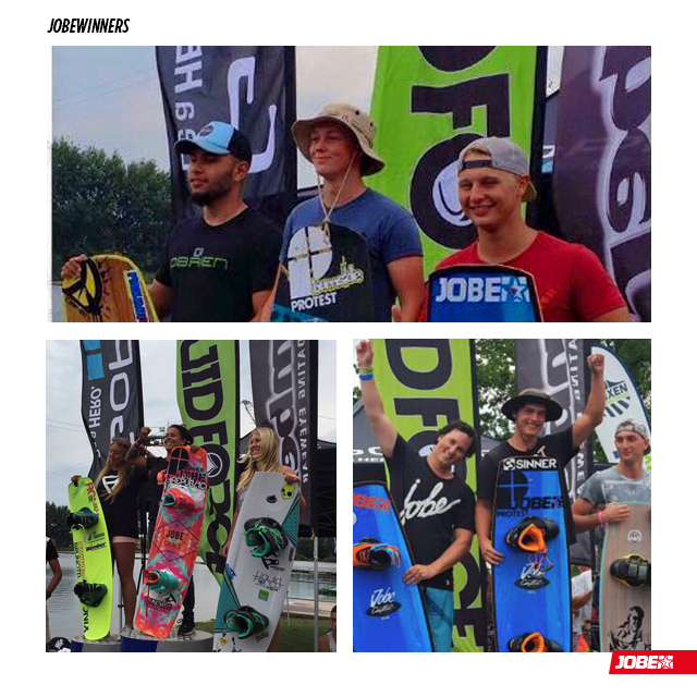 Jobe winners at the Dutch Nationals 2015