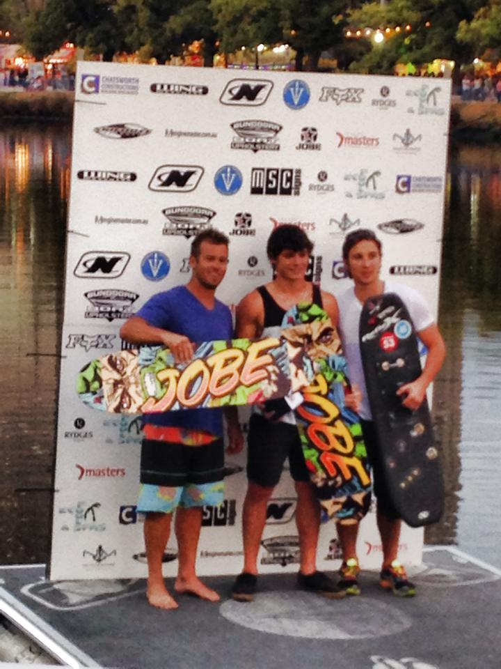 Jobe dominated the Moomba Masters International