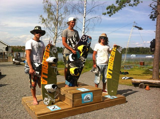 Jobe on the podium in Sweden!