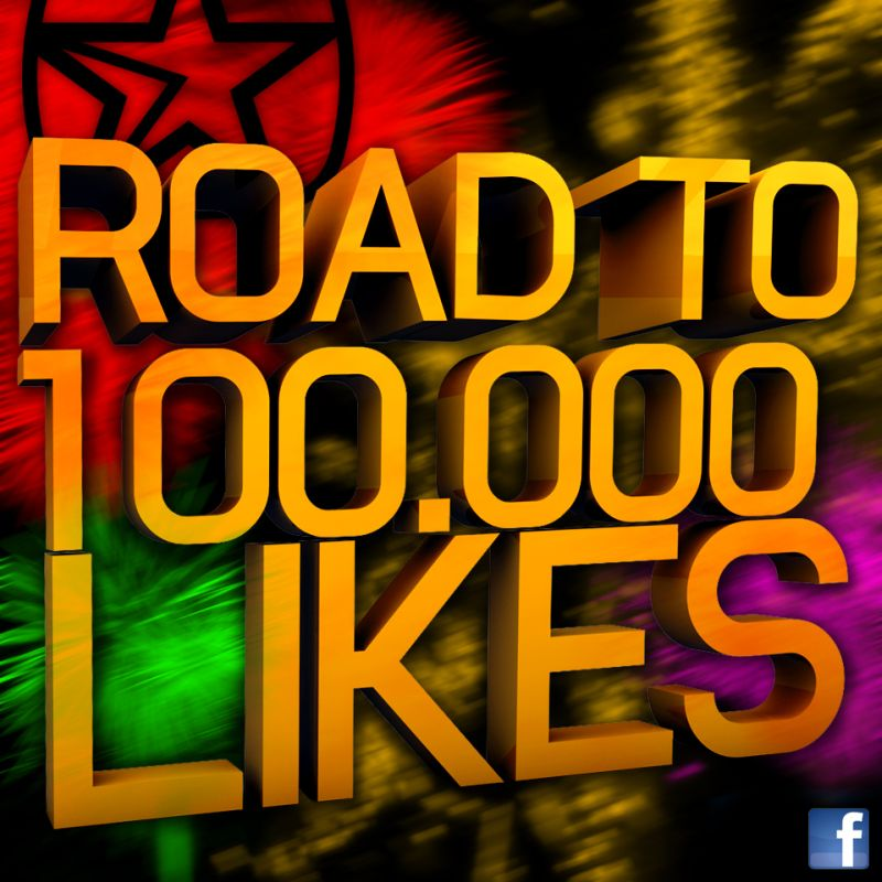 Road to 100.000 Likes: Only 3.500 to go!