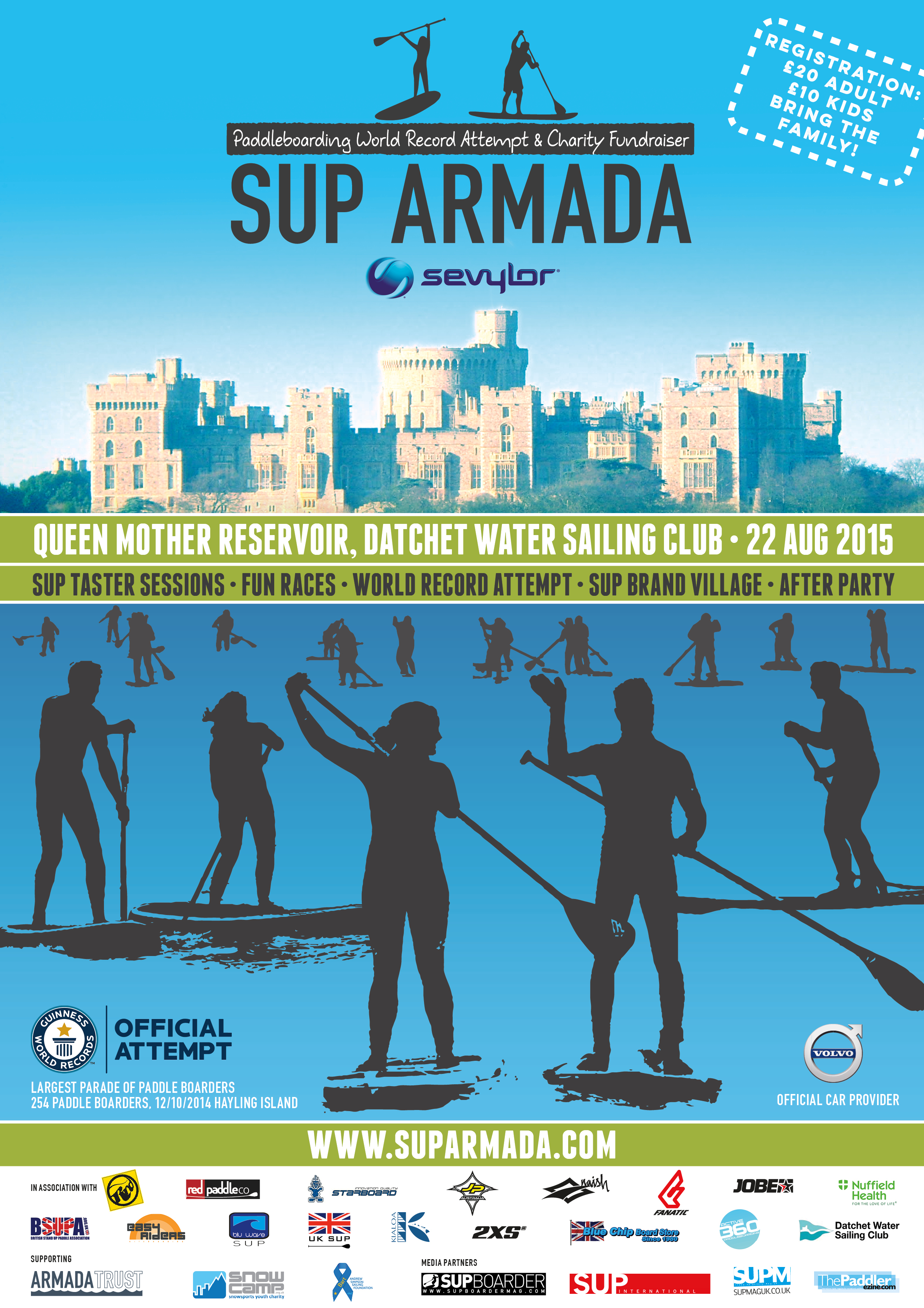 Jobe proud sponsor of the SUP Armada