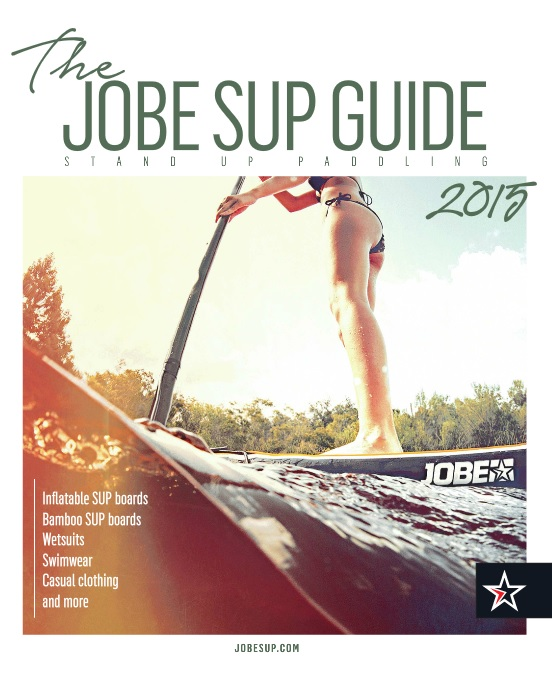 The 2015 Jobe SUP catalogue